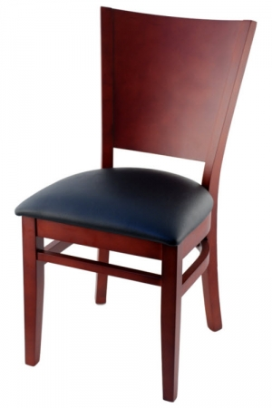 Premium US Made Curved Back Wood Chair