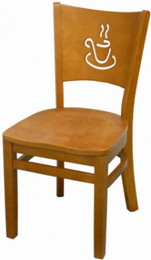Cafe Wood Chair