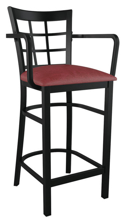 Bar Chair With Arms And Backs
