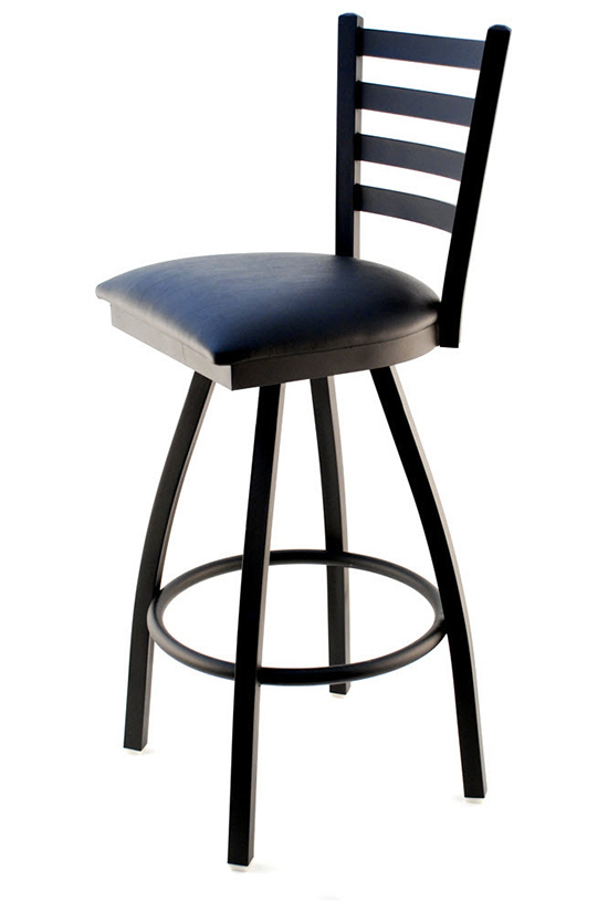 Swivel Ladder Back Metal Bar Stool  sc 1 st  Seating Masters & Swivel Ladder Back Metal Bar Stool | Seating Masters Restaurant ... islam-shia.org