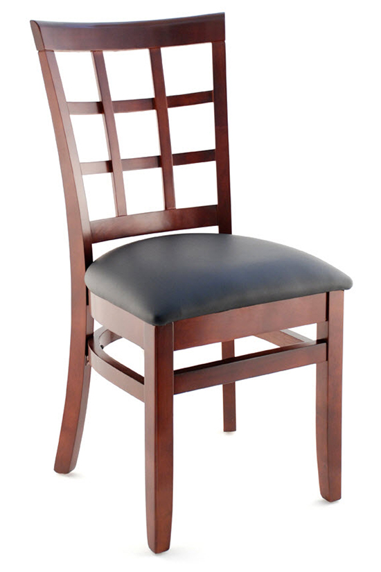 Premium Window Back Restaurant Side Chair
