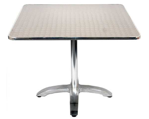 Etonnant Stainless Steel Table Set