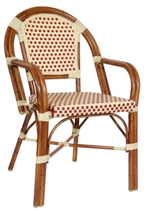 Sensational Aluminum Bamboo Cane Arm Chair Ibusinesslaw Wood Chair Design Ideas Ibusinesslaworg