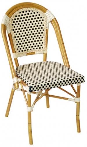 Aluminum Bamboo Patio Chair