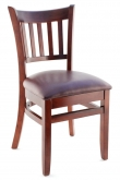 Premium US Made Vertical Slat Side Chair