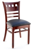 Premium US Made Houston Series Wood Chair