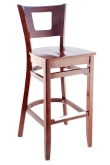 Premium US Made Chicago Series Wood Bar Stool