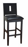 Modern Deco Style Wood Bar Stool
