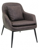 Dark Grey Nordic Club Chair