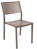 Aluminum Patio Chair in Rust Color