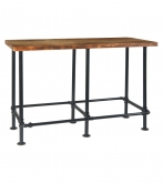 Industrial Series Pinewood Bar Height Table
