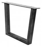 Trapezoid Industrial Table Leg