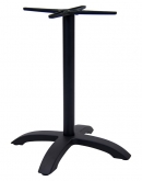 Black Aluminum Table Base - 30