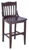Premium US Made School House Wood Counter Stool