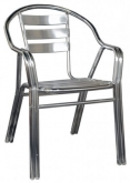 Double Tube All Aluminum Outdoor Chair