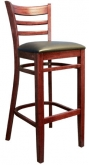 Beechwood Ladder Back Bar Stool