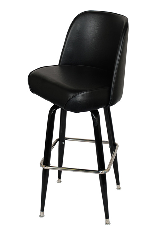 Swivel Bar Stool with Black Coated Frame : 150 BS 1 from www.seatingmasters.com size 500 x 750 jpeg 40kB
