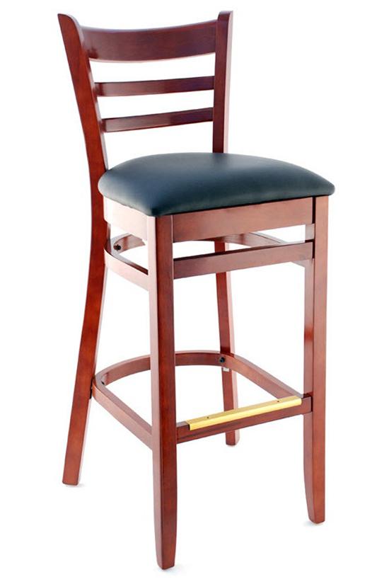 Premium Us Made Ladder Back Bar Stool