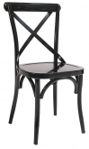 Classic X Back Metal Chair