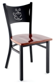 Coffee Cup Metal Chair