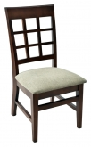 Extra High Premium Window Back Wood Chair